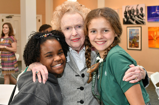 Ward-Belmont alumnae connect with Harpeth Hall's youngest students