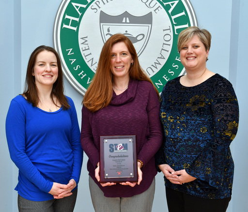Middle School Receives Recognition for Excellence in STEM