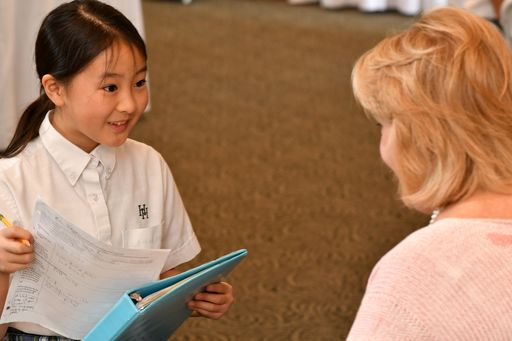 Ward-Belmont and Milestones Society connect with Harpeth Hall's youngest students