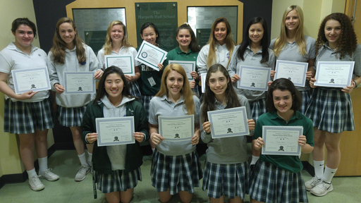 World Languages Honor Society Ceremonies