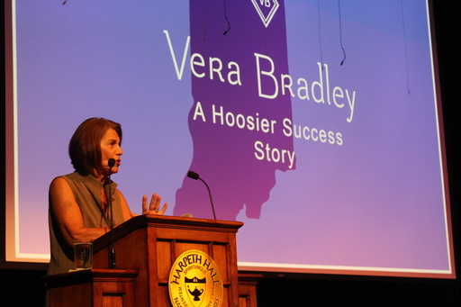 Patricia Miller of Vera Bradley Visits Harpeth Hall
