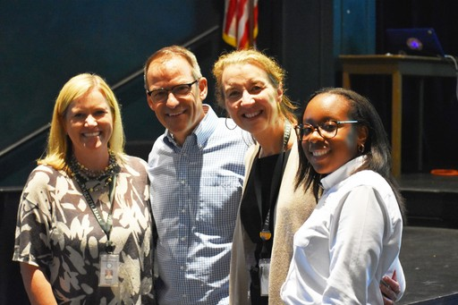 Mindfulness Speaker Dave Mochel visits Harpeth Hall