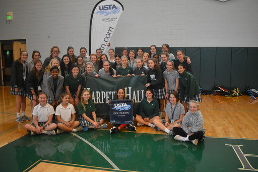 US Tennis Champion Madison Keys Visits Harpeth Hall