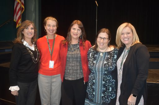 Jeannie Opdyke Smith Visits Harpeth Hall